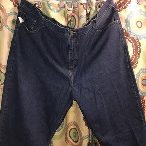 Other - Men plus size blue jean size 48x30